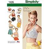 SIMPLICITY MISSES TOPS VESTS-4-6-8-10-12 (並行輸入品)