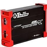 Mirabox キャプチャボード USB 3.0ビデオゲームキャプチャ1080p @ 60fps PS4 Xbox Wii UおよびPS3をHD Loopoutでサポート、プラグアンドプレイサポートHDMIゲームライブ録画/ HDMIビデオ録画/ライ