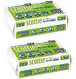 スコッティ ペーパーふきん サッとサッと 400枚(200組) ×2パック