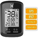 XOSS Gサイクリングコンピュータ、GPSワイヤレスサイクリングスピードIPX7防水MTB走行距離計Bluetooth