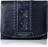 [カンサイヤマモトファム] KANSAI YAMAMOTO FEMME 二つ折財布 レディス ファスナー小銭入れつき MJ5966 NVY (ネイビー)