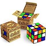 キューブ:オリジナルルービックより速く回せてより正確;鮮やかな色で超耐久性。ルービックキューブのベストセラー;100%返金保証!
