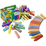 CRAYOLA Washable Sidewalk Chalk, Creative Outdoor Art, Perfect for Outdoor Kids' Activities and Games!, Multi, 48 ct (51-2048
