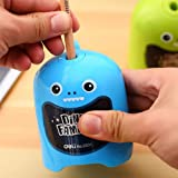 Super Cute Best Electric Automatic Pencil Sharpener Battery Operated Portable Lovely Dinosaur Design Sharpener for Kids, Offi