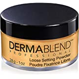 Dermablend Professional Loose Setting Powder - Sets Face & Body Makeup for Up to 16 Hours - Blends Smoothly, Absorbs Excess O