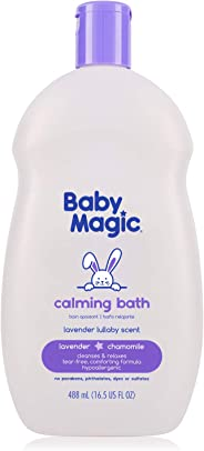 Baby Magic Calming Bath, Tear-Free, Lavender & Chamomile, 16.5oz