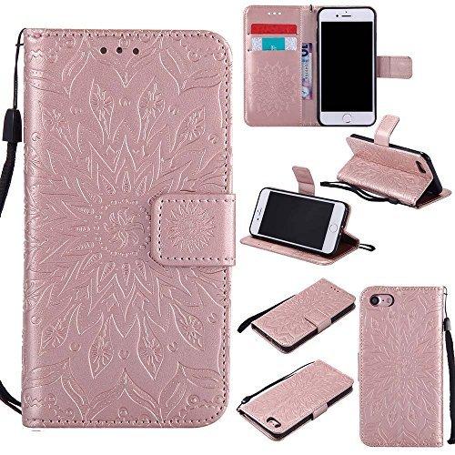 iPhone 8 ケース、 Dfly 高品質 PU 革 を ...