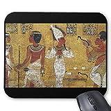 『 ツタンカーメン王の墓の壁画 』のマウスパッド:フォトパッド*(世界の名画シリーズ)