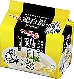 サンヨー食品 サッポロ一番 鶏白湯らーめん5個パック 475g×6個