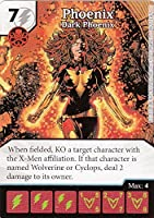 "Marvel Dice Masters The Dark Phoenix Saga Month One Op Kit Phoenix ""Dark Phoenix"" M2014#9 Limited Edition Card"