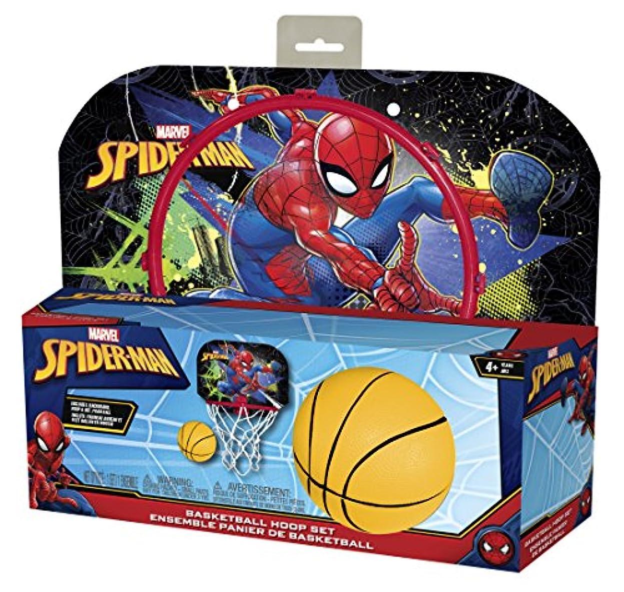 伝説カード器用Hedstromスパイダーマンプラスチックフープセット、赤、1サイズ