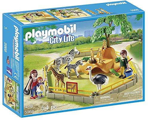 PLAYMOBIL (プレイモービル) ワイルドアニマルエリア Wild Animal Enclosure 5968 [並行輸入品]