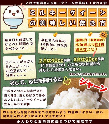 【精米】 新潟県産 白米 ミルキークイーン お試しセット (300g×3袋) 平成29年産 新米