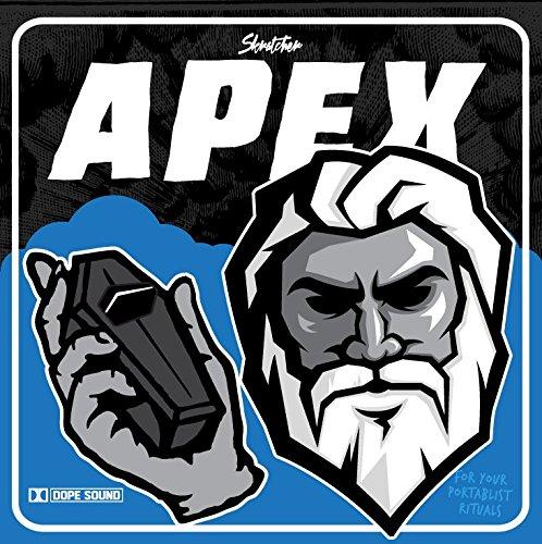 """Skratcher - Apex 7"""" レコード バトルブレイクス"""