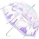 ディズニー プリンセス 長傘手開き POE 大人傘 アナと雪の女王II 59cm 32428
