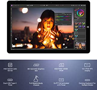 CHUWI Hi10 X タブレット 10.1インチ Tablet PC Windows 10【日本正規代理店品】