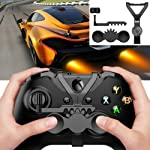 Alician Mini Steering Wheel Xbox One S/X Controller Add-on Replacement Accessories Gaming Controller