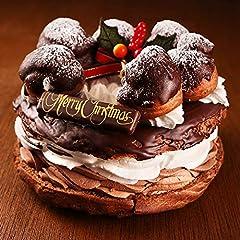 クリスマスケーキ 2018 チョコレートケーキ 禁断のクリスマスケーキプレミアム チョコパリブレスト5号サイズ ギフト プレゼント 予約