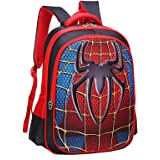 Children School Backpacks Spider Lightweight Students Bag For Boy 5-12 Years Old