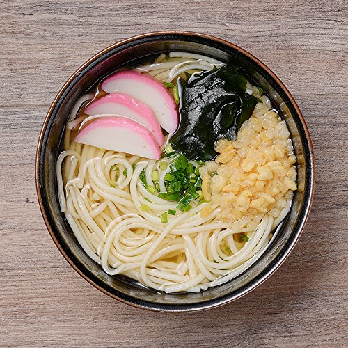 冷凍五島うどんセットMR-08〔麺180g、スープ、あげ玉、乾燥ねぎ・各8〕