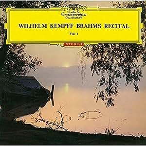 ブラームス:幻想曲集、2つの狂詩曲、カプリッチョ、間奏曲