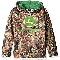 John Deere Big Boys' Mossy Oak Logo Fleece Hoodie