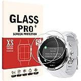 {{ 2枚セット }} に適合する SUUNTO 9 G1 BARO 用の フィルム 腕時計 ガラスフィルム 2.5D ラウンドエッジ 加工 反射 軽減 薄型 気泡無 装着 簡単 強化ガラス 保護 フィルム 硬度9H 厚さ0.26mm 液晶保護フィル