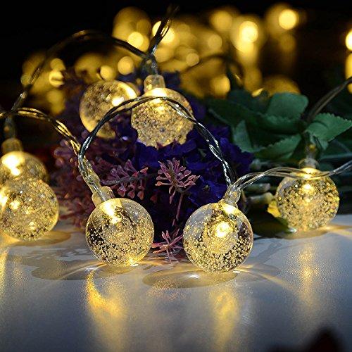 RoomClip商品情報 - LEDストリングライト Idealeben イルミネーションライト 40球4.3M 電飾 電球色 クリスマス/ハロウィーン ライト 飾り付け