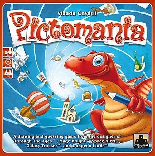 ピクトマニア (Pictomania) 002 ボードゲーム