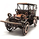 Tipmant Metal Antique Vintage Car Model Home Décor Decoration Ornaments Handmade Handcrafted Collections Collectible Vehicle
