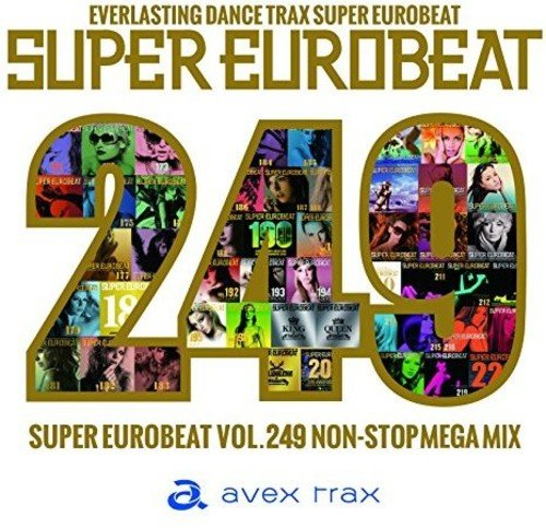 SUPER EUROBEAT VOL.249(ALBUM2枚組)