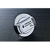 VW,Audi,Porsche フューエルキャップカバー ブラック×クローム XA-FC-00002