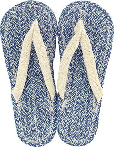 現代百貨 コットンサンダル ルポ ネイビー メンズ フリーサイズ 約25~2...