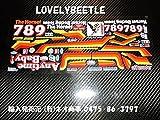 1/10 ホーネット 旧バージョン ビニールステッカーセット TB/バギーチャンプ レーシングバギー ワーゲン 空冷バギー VW ビートル