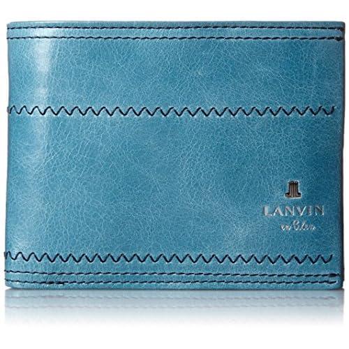 [ランバンオンブルー] LANVIN en Bleu 二つ折り財布 ゼウス 557603 BLU (ブルー)