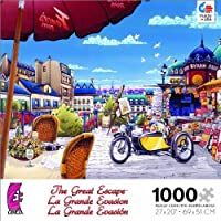 The Great Escape The Newspaper Stand in Paris Jigsaw Puzzle by Ceaco [並行輸入品]