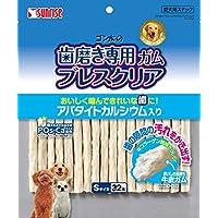 ゴン太 ゴン太の歯磨き専用ガム ブレスクリア アパタイトカルシウム入り S 32本