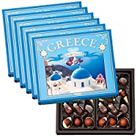 ギリシャ 土産 ギリシャ シーシェルチョコレート 6箱セット (海外旅行 ギリシャ お土産)