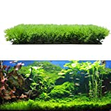 Vktech人工水草 水槽用 プラント グリーングラス 芝生 癒しの水景 草風 飾り水槽装飾