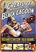 Creature from The Black Lagoon 金属板ブリキ看板警告サイン注意サイン表示パネル情報サイン金属安全サイン