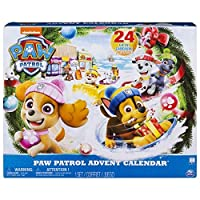 Paw Patrol Advent Calendar with 24 Collectible Plastic Figures [並行輸入品]