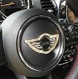 BMW MINI ミニ ステアリング ハンドル 装飾 ゴールド