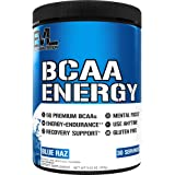 Evlution Nutrition BCAA Energy - Essential BCAA Amino Acids, Vitamin C, + Natural Energizers for Performance, Immune Support,