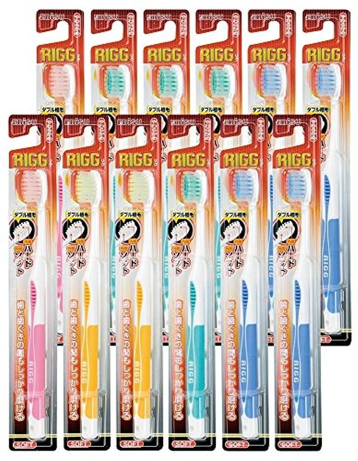 みぞれ読むシャークエビス リグハブラシ やわらかめ 12本組 色おまかせ