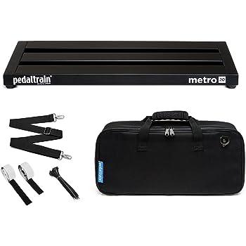Pedaltrain エフェクターケース Metro 20 SC [国内正規品] (PT-M20 エフェクター用ペダルボード&ソフトケース付属モデル)
