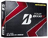 BRIDGESTONE(ブリヂストン) ゴルフボール TOUR B B330X 1ダース(12個入り) イエロー GBYXJ