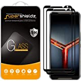 (2 Pack) Supershieldz for Asus ROG Phone 2 / ROG Phone II (ZS660KL) Tempered Glass Screen Protector, (Full Screen Coverage) A
