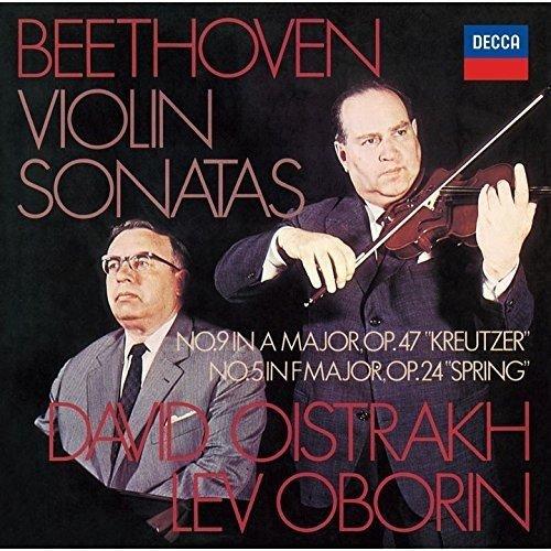 ベートーヴェン:ヴァイオリン・ソナタ第5番「春」&第9番「クロイツェル」