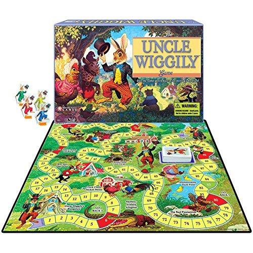 クラシックおじさんWiggily Childrens FunボードゲームDr。Possumの家Adventure