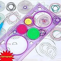 Spirographカラーリングブック&クレヨン